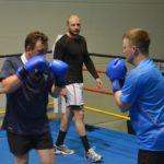Boxcoaching im Olympiastützpunkt mit projekt-dialog gmbh