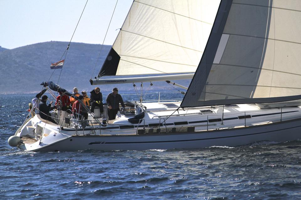 Teamtraining auf dem Segelboot