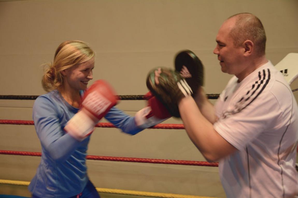 Box-Coaching für Frauen