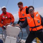 Teamentwicklung auf dem Schiff mit projekt-dialog gmbh